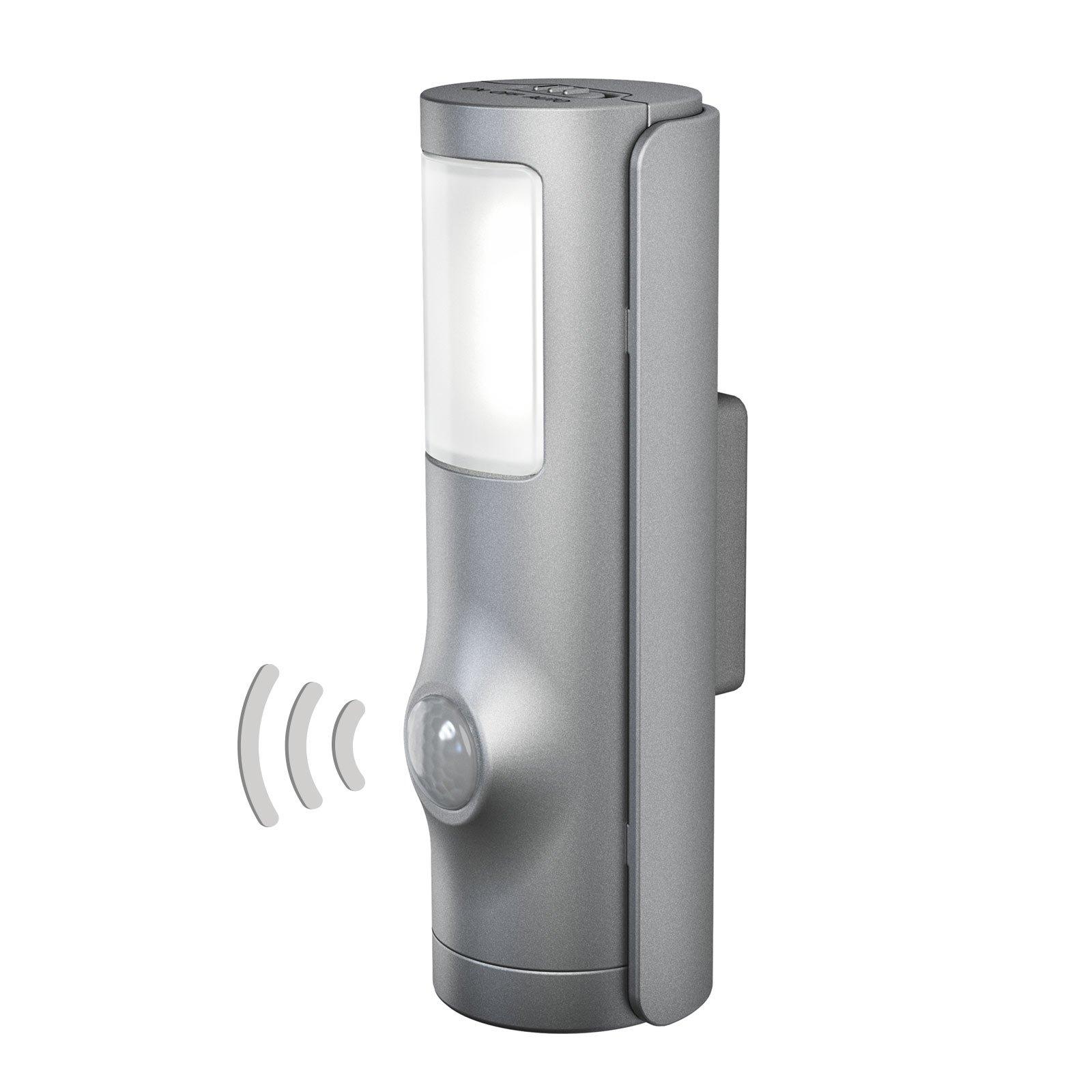 LEDVANCE Nightlux Torch LED-nattlys sølv