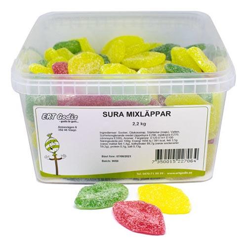Sura Mixläppar Lösvikt i Burk - 2.2 kg