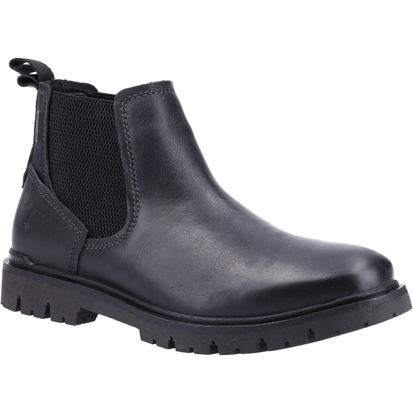 Hush Puppies Men's Paxton Chelsea Boot Various Colours 32882 - Black 12