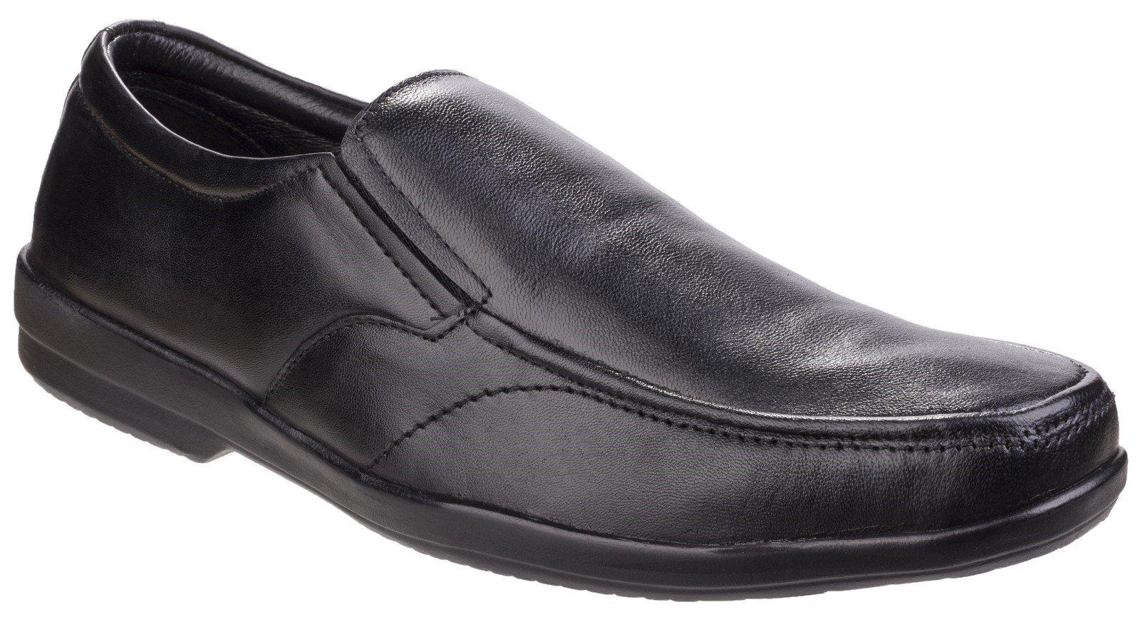 Fleet & Foster Men's Alan Formal Shoe Black 24952-41296 - Black 7
