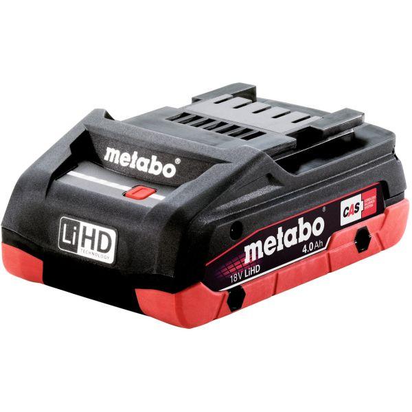 Metabo 18V LiHD Batteri 4,0 Ah