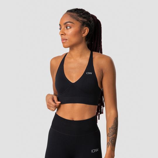 Define Adjustable Sports Bra, Black