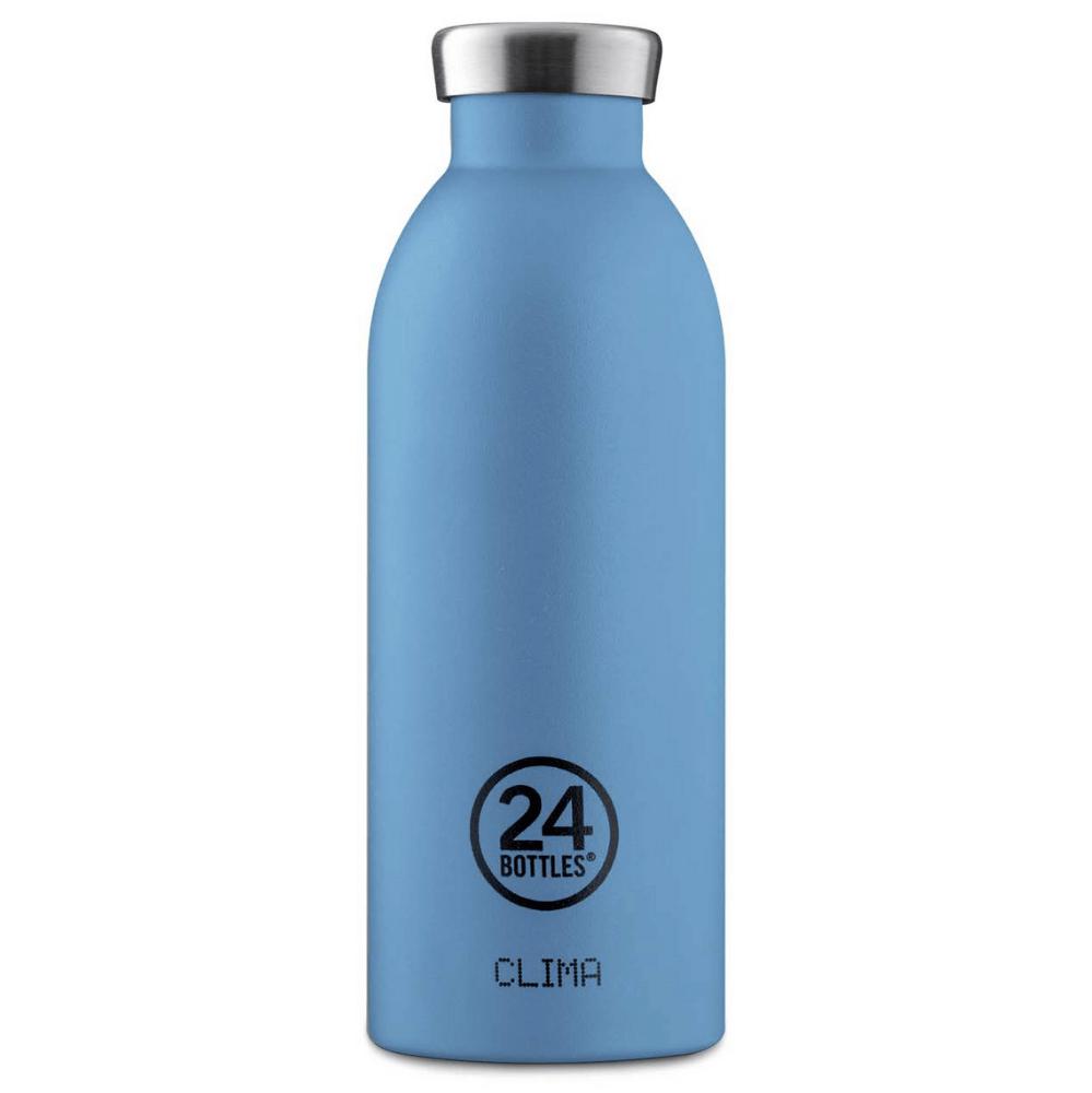 24 Bottles - Clima Bottle 0,5 L - Stone Finish - Powder Blue (24B528)