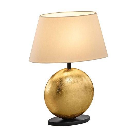 BANKAMP Mali bordlampe, krem/gull, høyde 41 cm