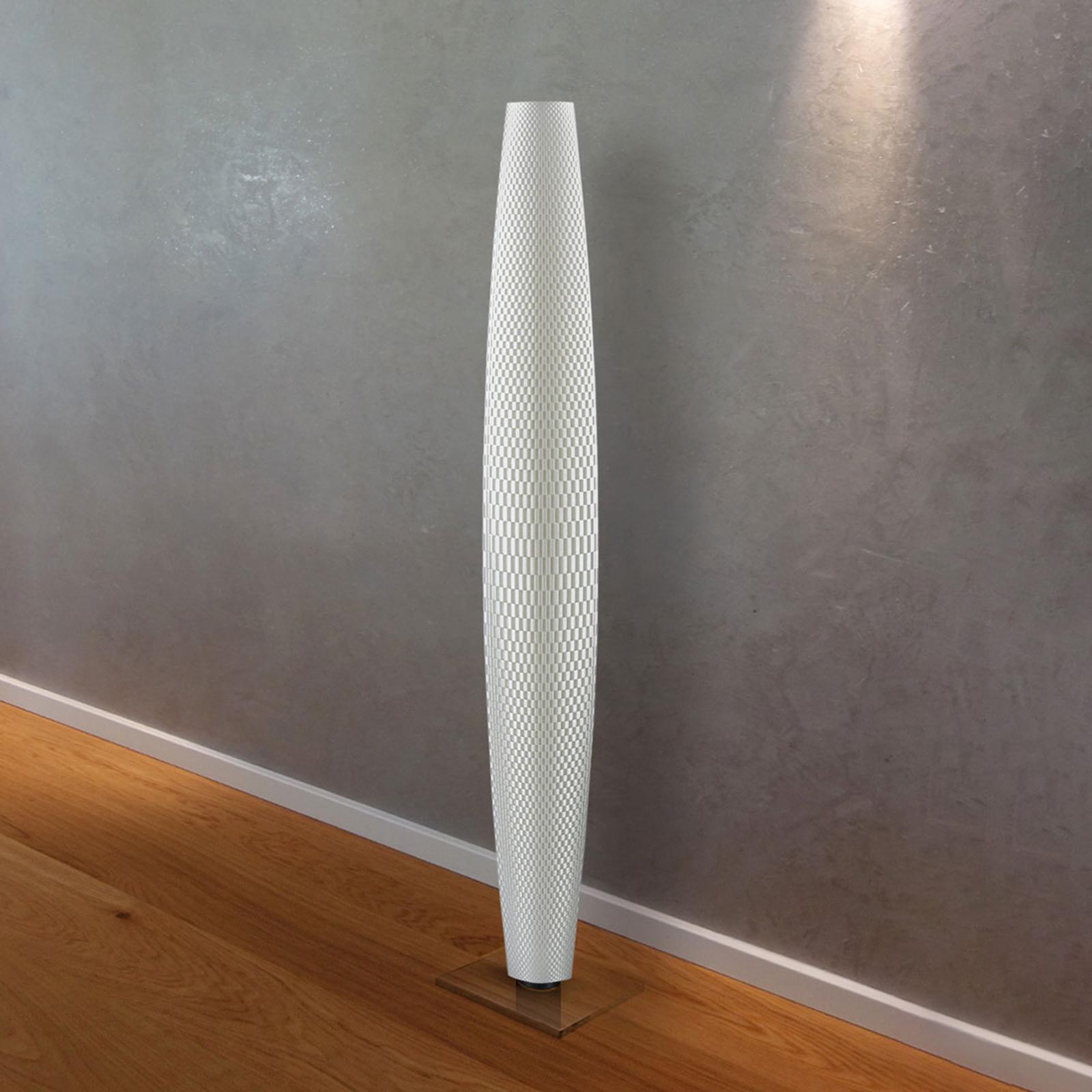 LED-lattiavalaisin Punos Pur, valkoinen 110 cm
