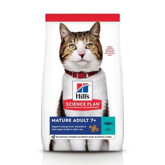 Hill's Science Plan Cat Mature Adult 7+ Tuna 1,5 kg