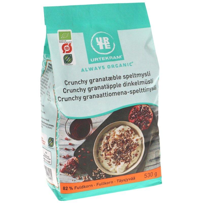Crunchy Granaattiomena & Spelttimysli - 31% alennus