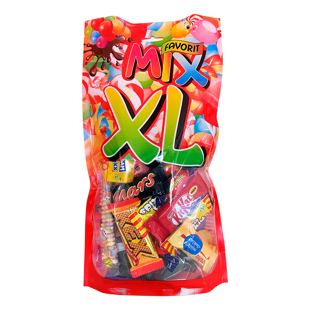 Favoritmix XL Godis - 500 gram