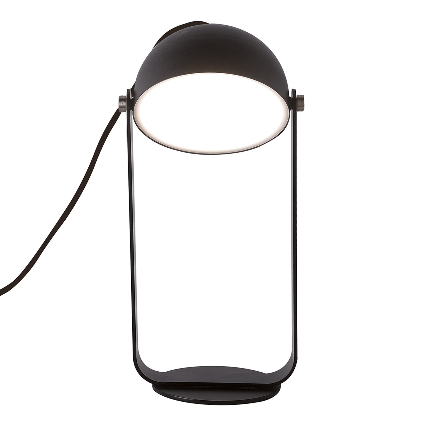 LED-bordlampe Hemi svingbar skjerm svart