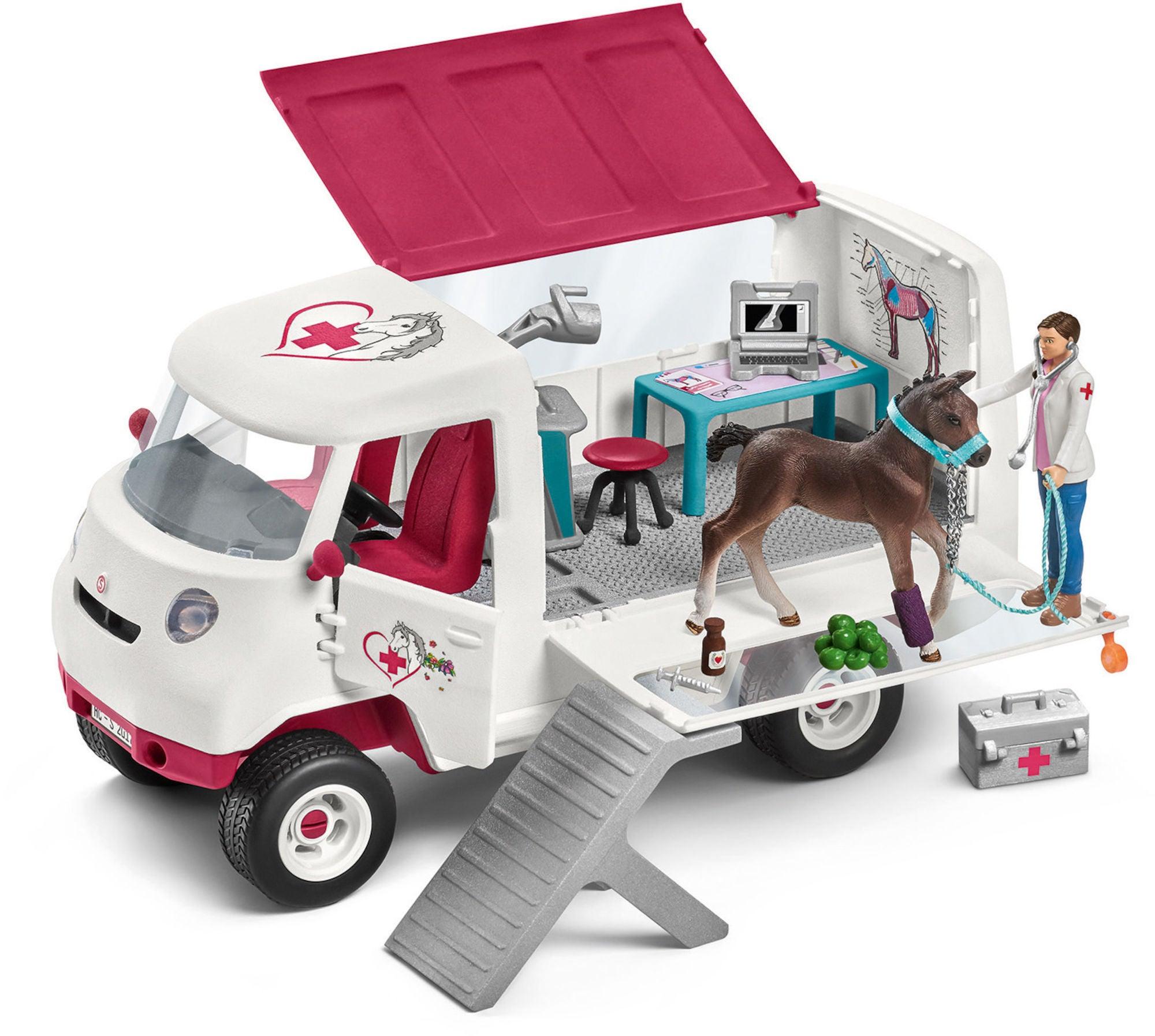 Schleich Eläinlääkärin Auto