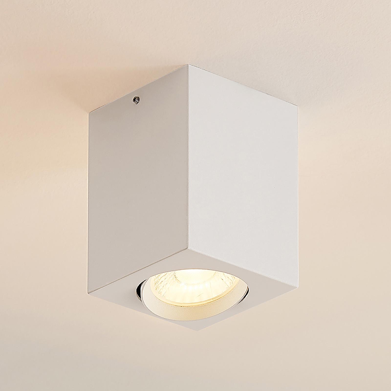 Arcchio Basir LED-kohdevalo, valkoinen, 4,8 W