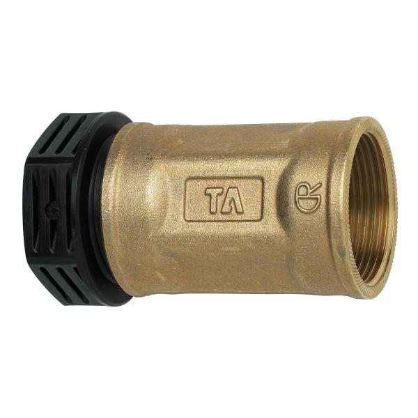 TA 3004018022 PEM-liitin metalli, suora, muovinen sisäkierre 16 x G15