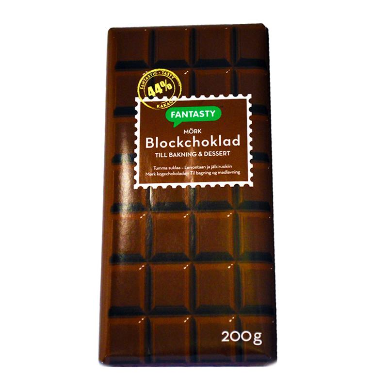 Blockchoklad Mörk - 28% rabatt