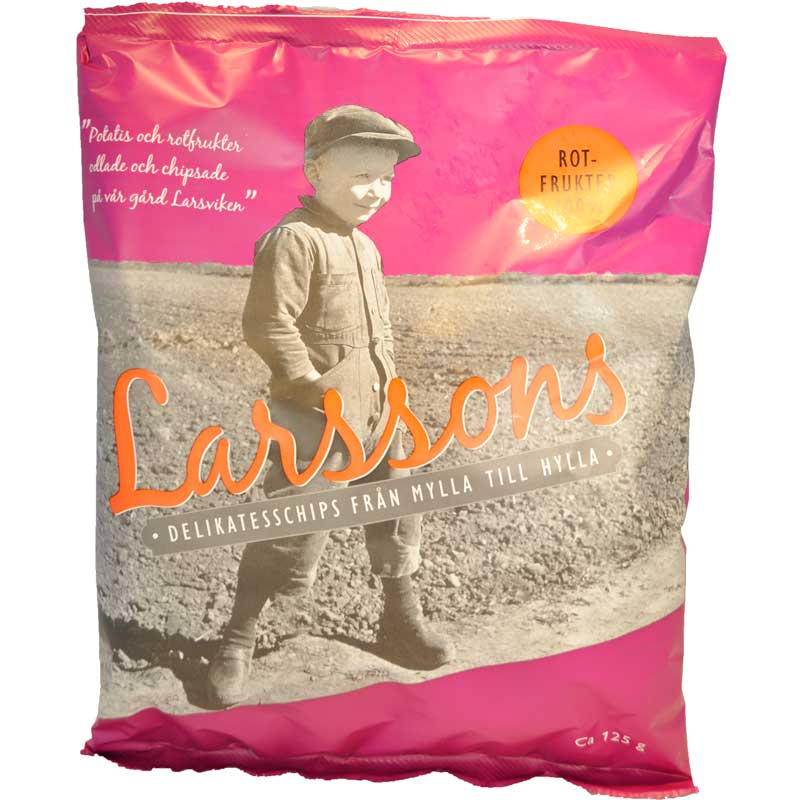 Larssons delikatesschips Rotfrukt - 50% rabatt