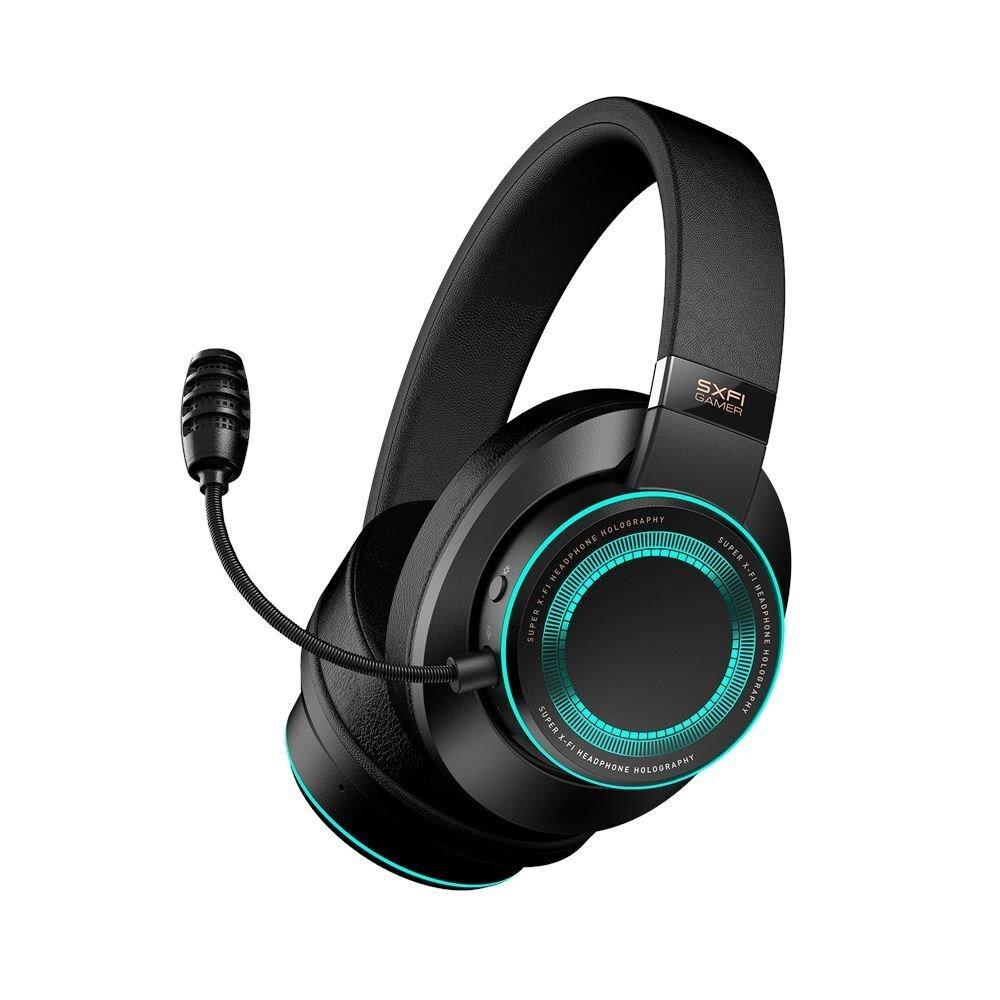 Creative - SXFI USB-C Gaming Headset, Black