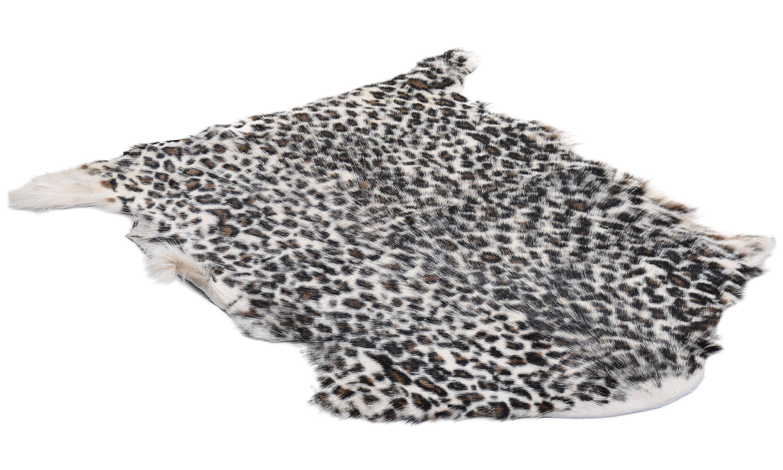 Goaty rug panther print - geiteskinn