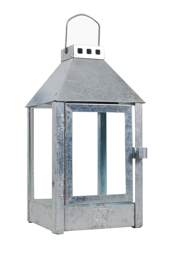 A2 Living - Mini Lantern - Galvanized Steel (40001)