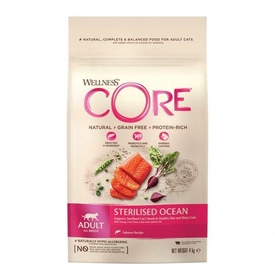 CORE Cat Adult Sterilised Salmon 4 kg