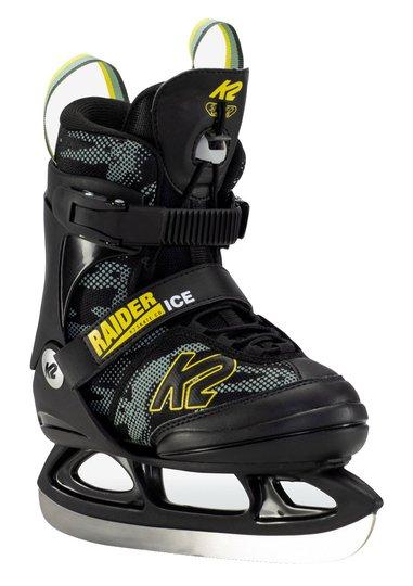 K2 Raider Ice Skøyter, Gul/Grønn L