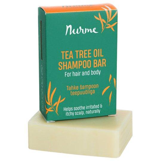 Nurme Tea Tree Oil Shampoo Bar, 100 g