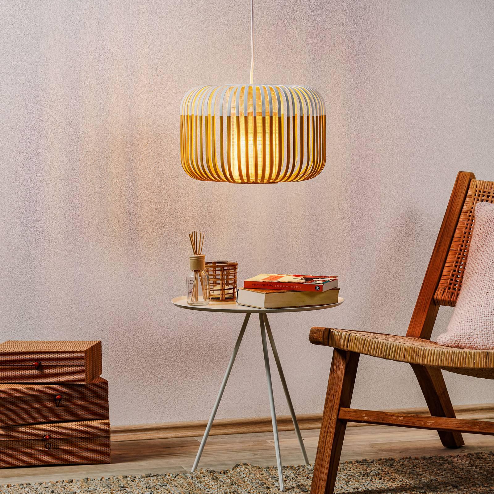 Forestier Bamboo Light S-riippuvalo 35cm valkoinen