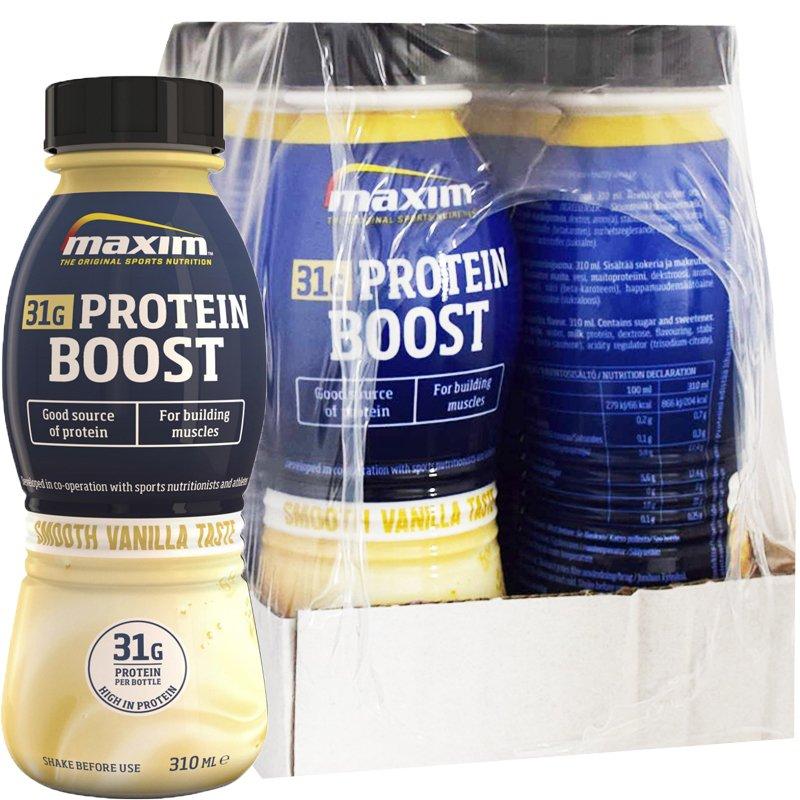Laatikollinen Proteiinijuomia Vanilja 6 x 310ml - 33% alennus