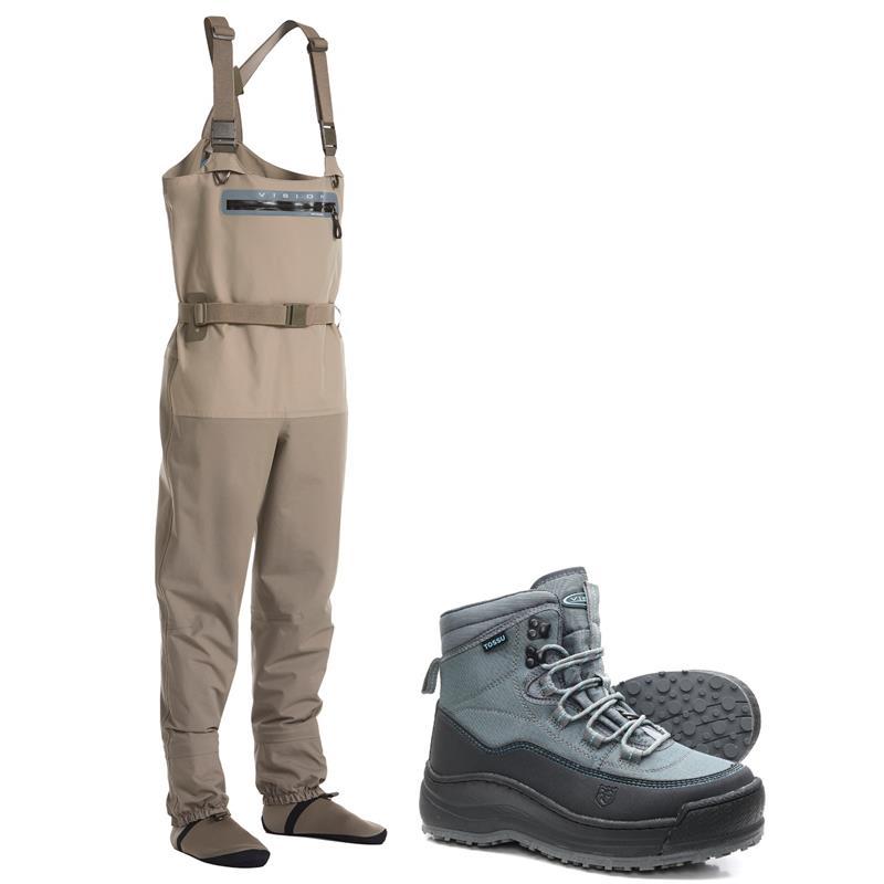 Vision Scout 2.0 Strip Vadepakke Sko og bukse