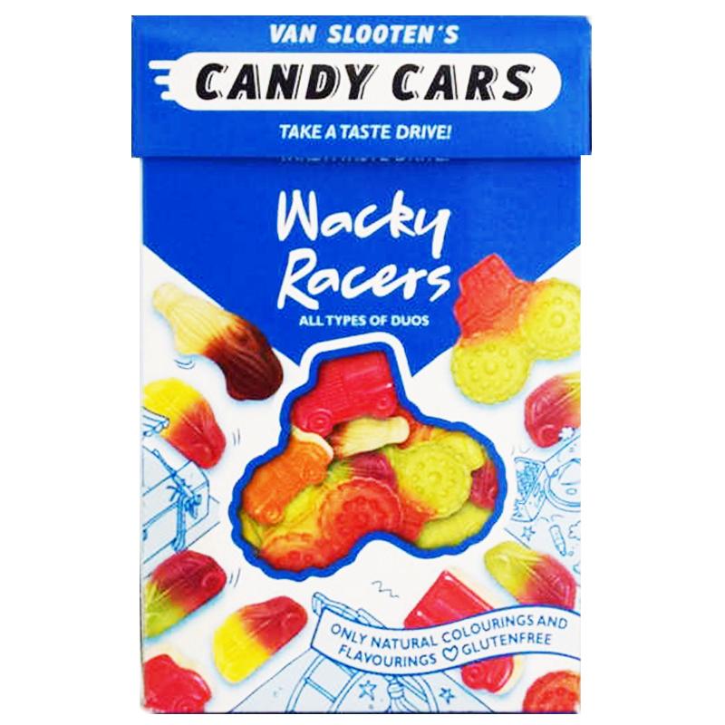 "Godisbilar ""Wacky Racers"" 225g - 63% rabatt"