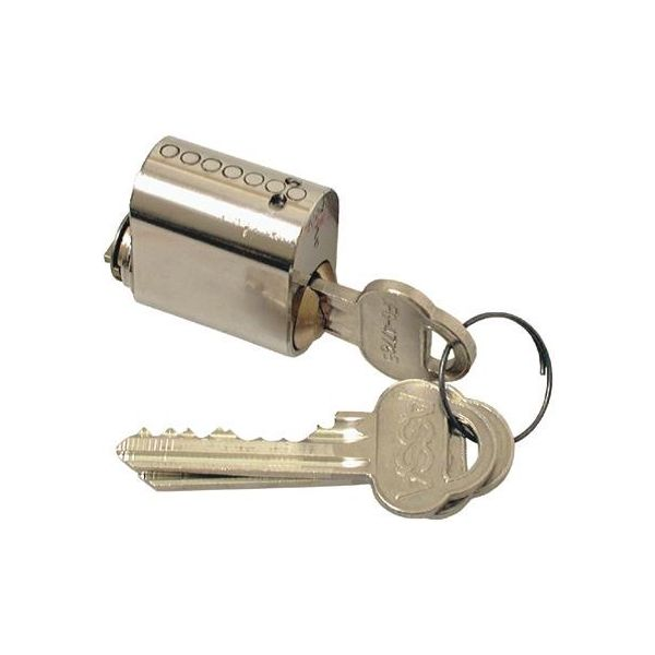 ASSA 701 Låsesylinder med 3 nøkler Forniklet