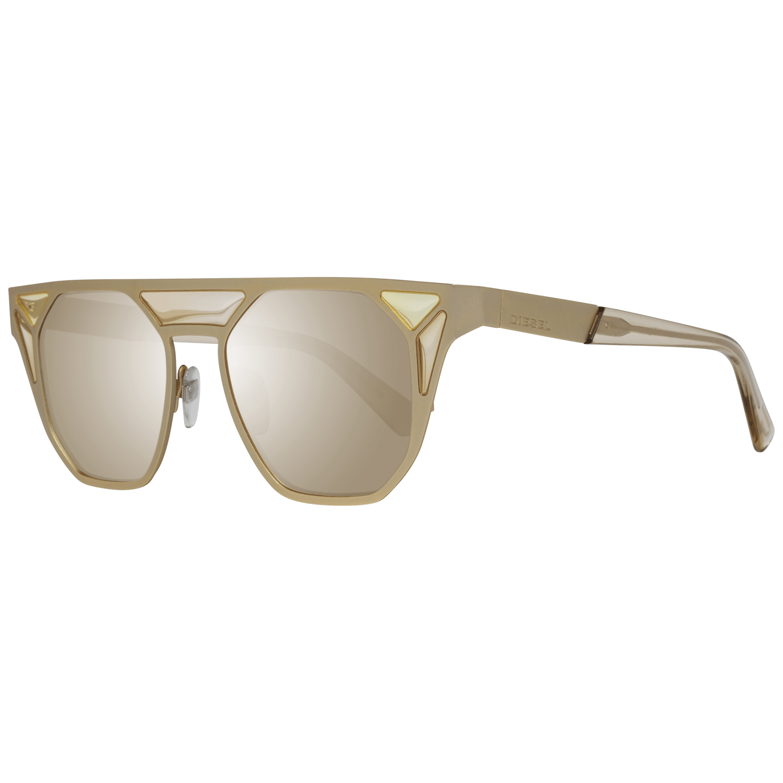 Diesel Women's Sunglasses Gold DL0249 4832G