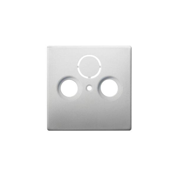ABB Impressivo Midtplate TV/R/SAT Rustfritt stål