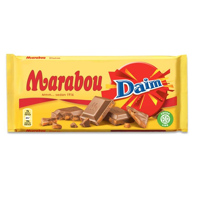 Mjölkchoklad Daim 200g - 33% rabatt