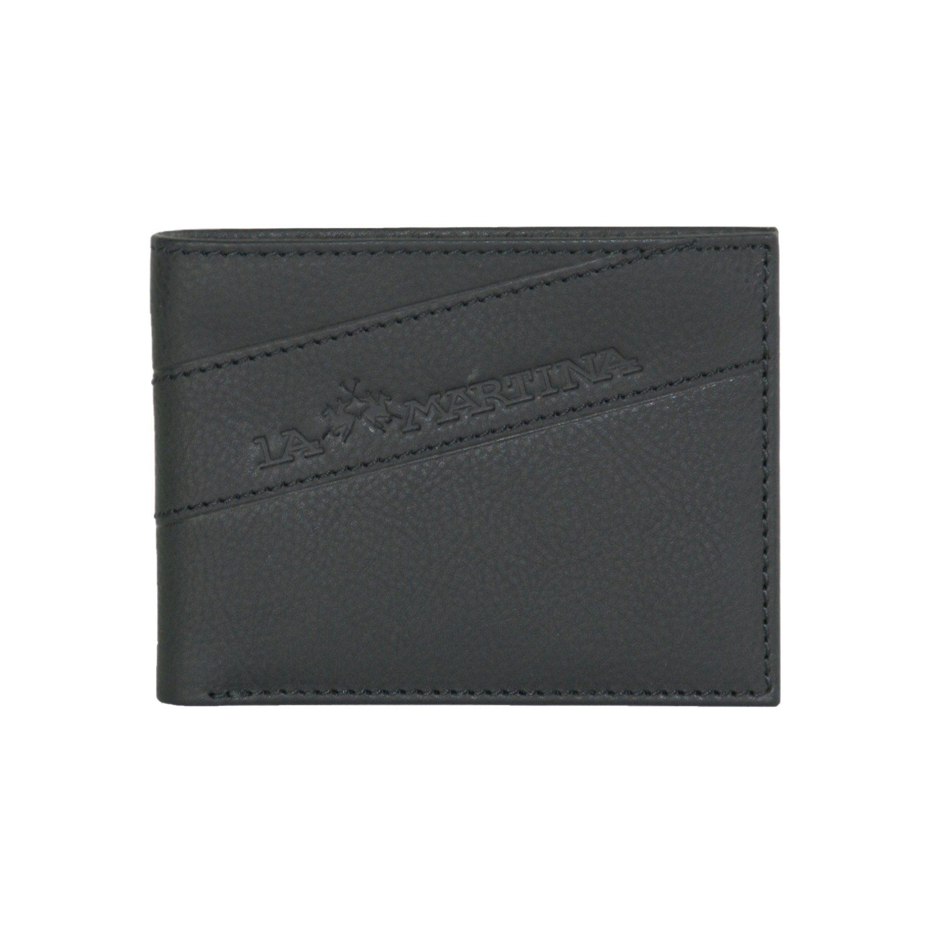 La Martina Men's Wallet Black LA1432645