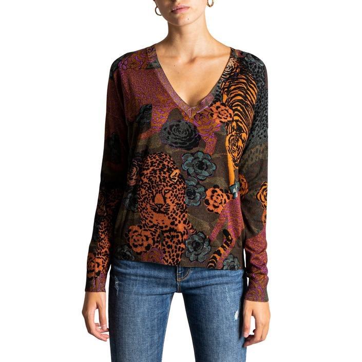 Desigual Women's Knitwear Green 320075 - green M