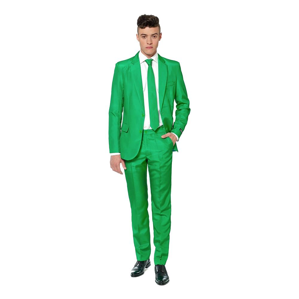 Suitmeister Grön Kostym - Medium