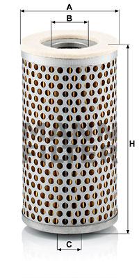 Ilmansuodatin MANN-FILTER C 711