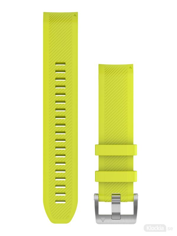 Garmin QuickFit 22-klockarmband i gult silikon 010-12738-16
