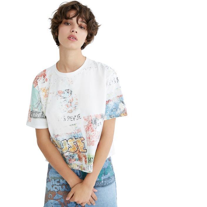 Desigual - Desigual Women T-Shirt - white M