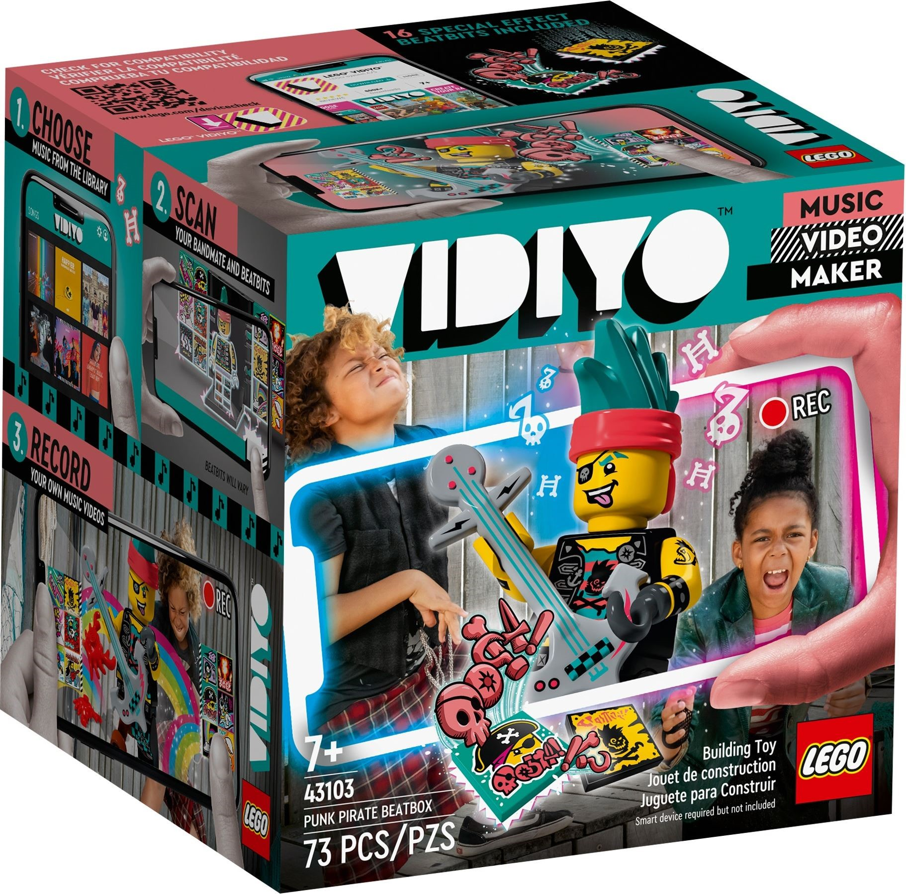 LEGO VIDIYO - Punk Pirate BeatBox (43103)