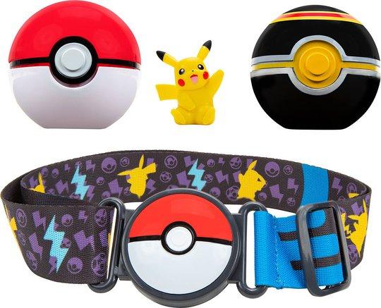 Pokémon Clip 'N Go Belt Set Luxury Ball og Pikachu