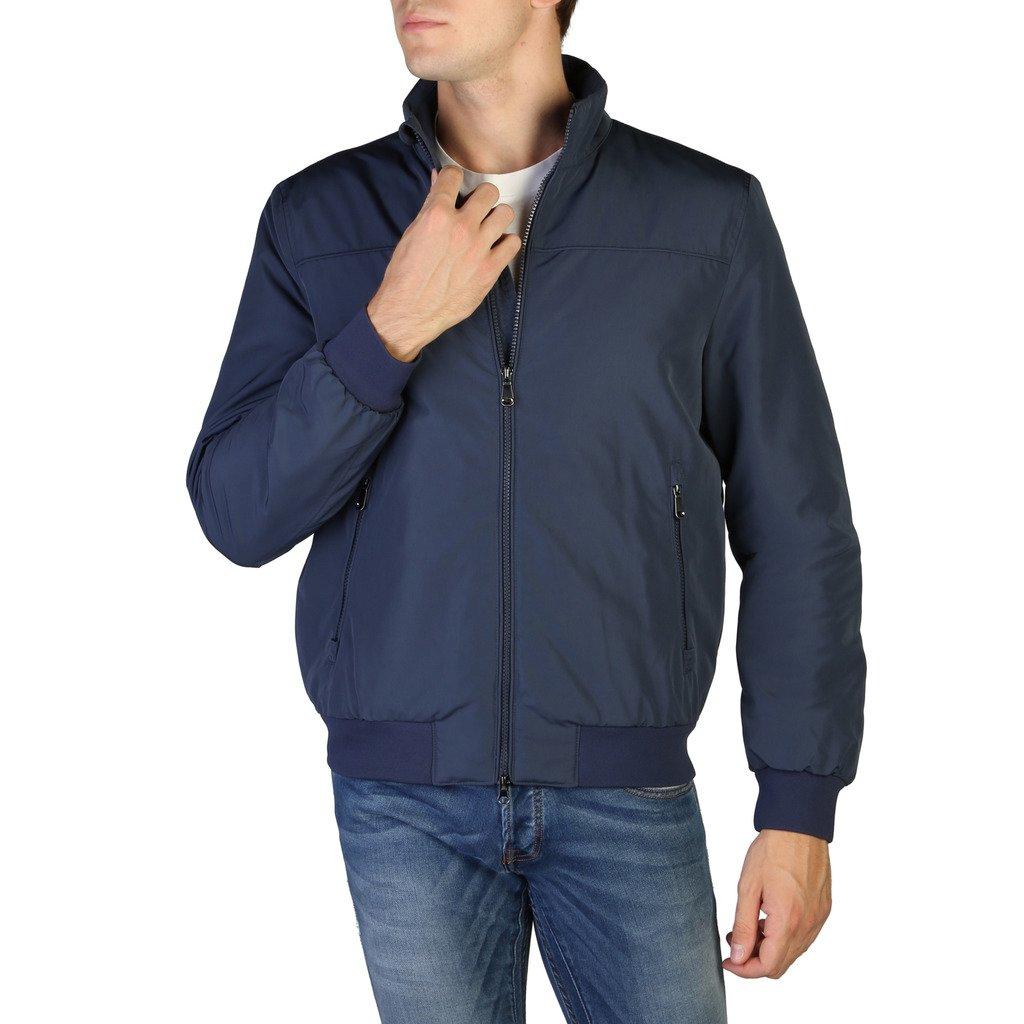 Geox Men's Jacket Blue M8420CT2419 - blue 56