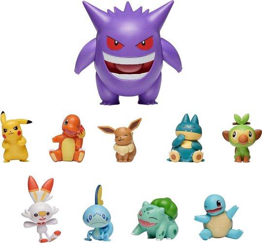Pokémon Battle Figurer 10-Pack