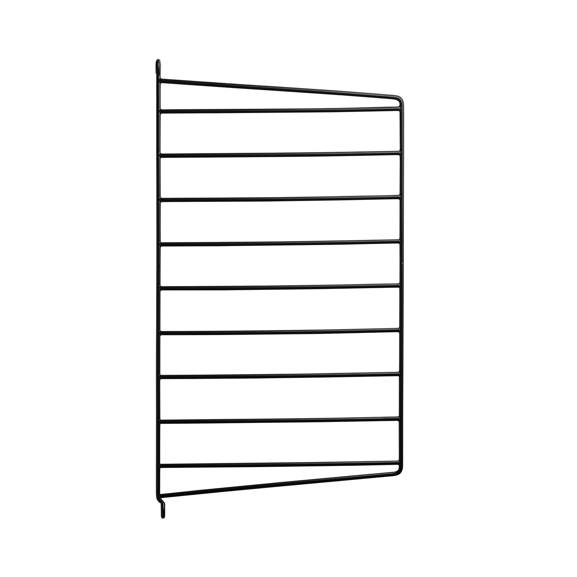 String Väggavel 50x30 1-p svart