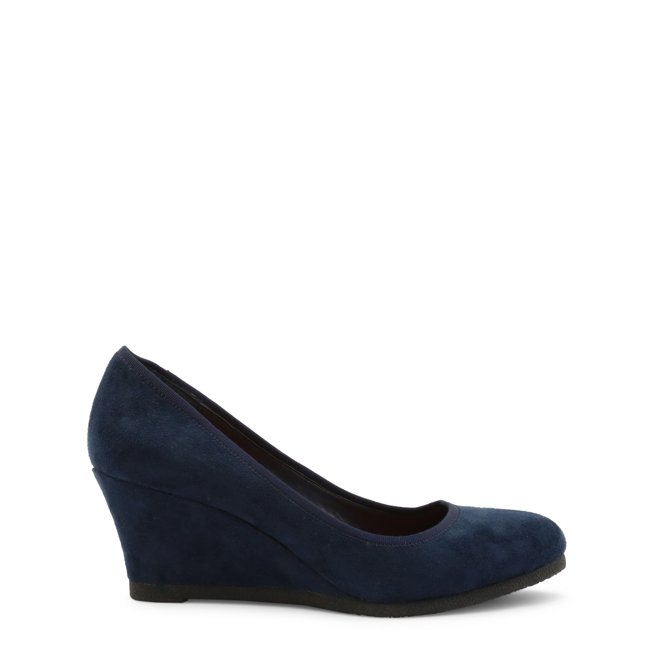Roccobarocco Women's Wedges Shoe Brown 342946 - blue EU 37