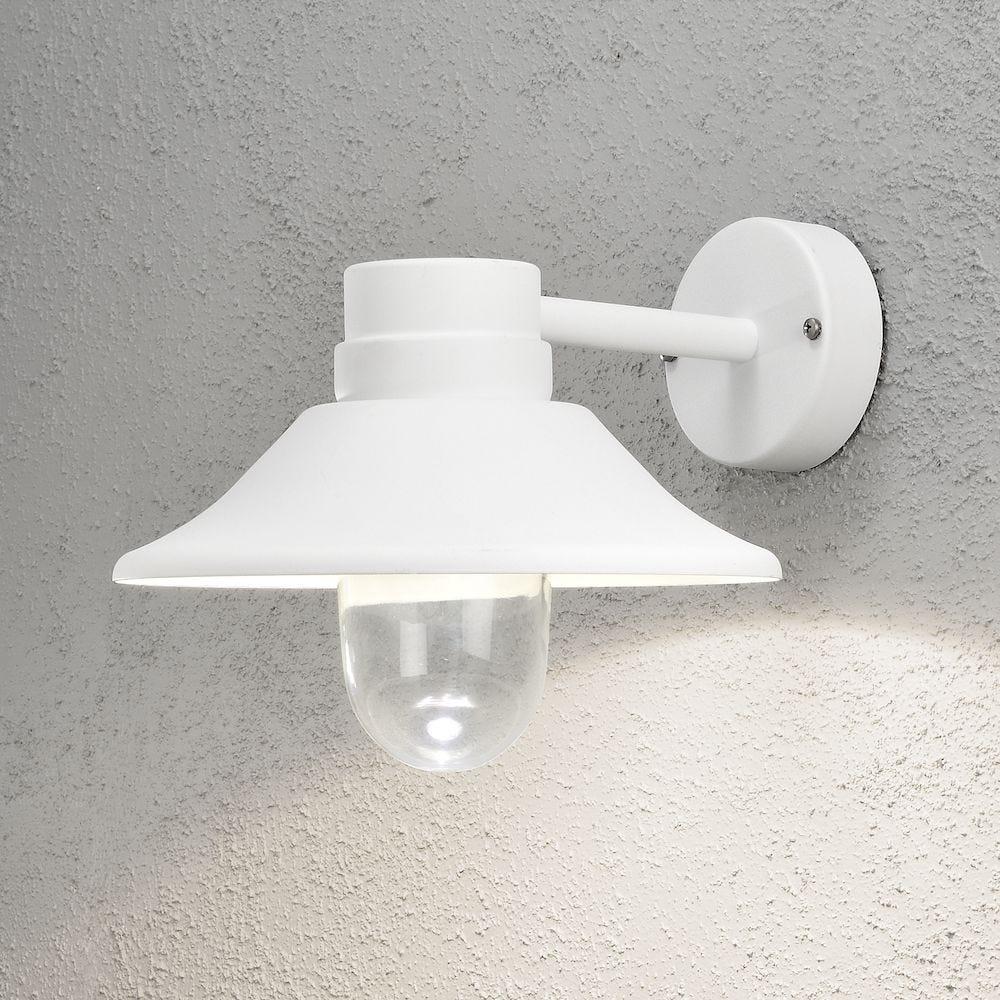 Konstsmide Vegglampe Vega 8W LED Hvid