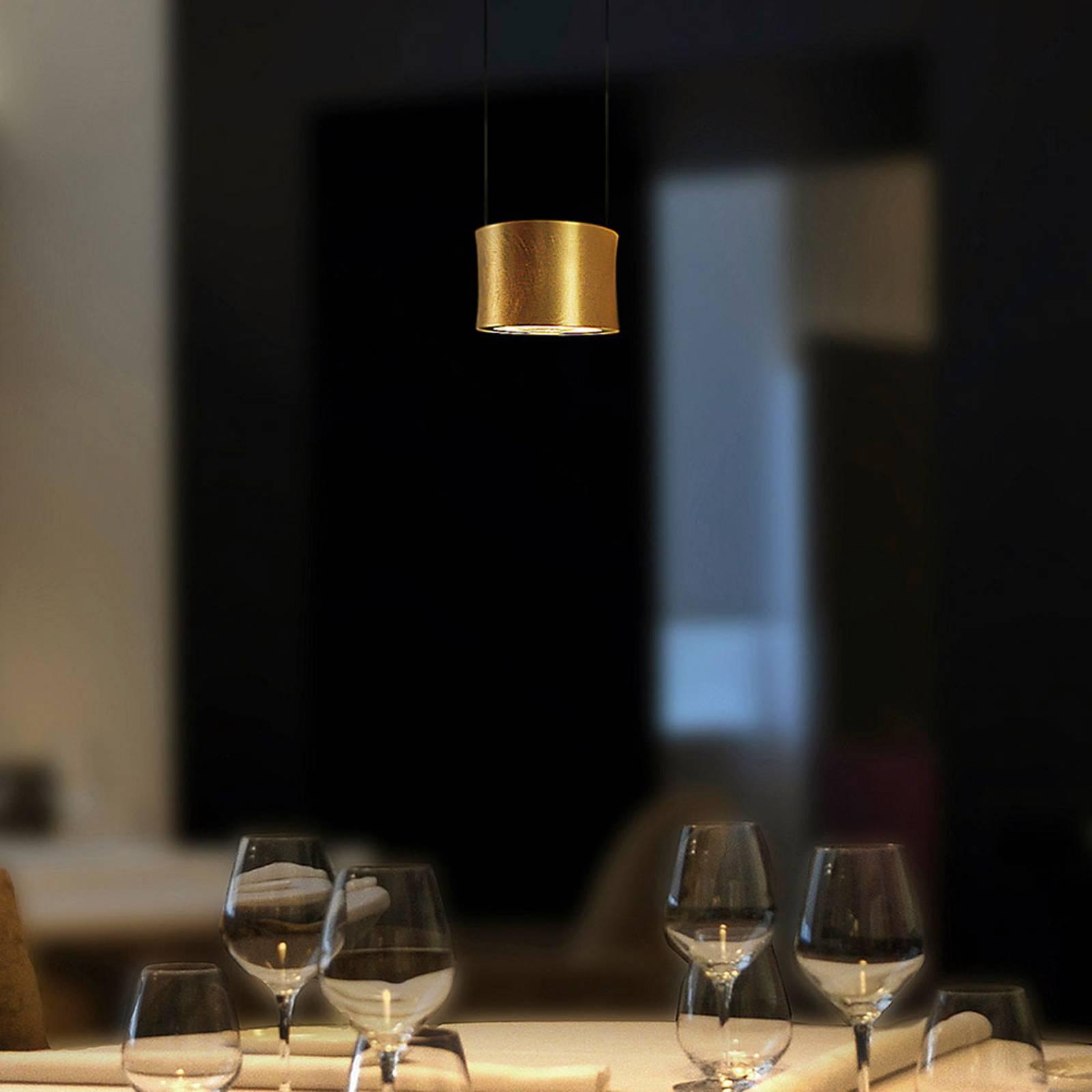 BANKAMP Impulse -LED-riippuvalaisin 1-lamp. kulta
