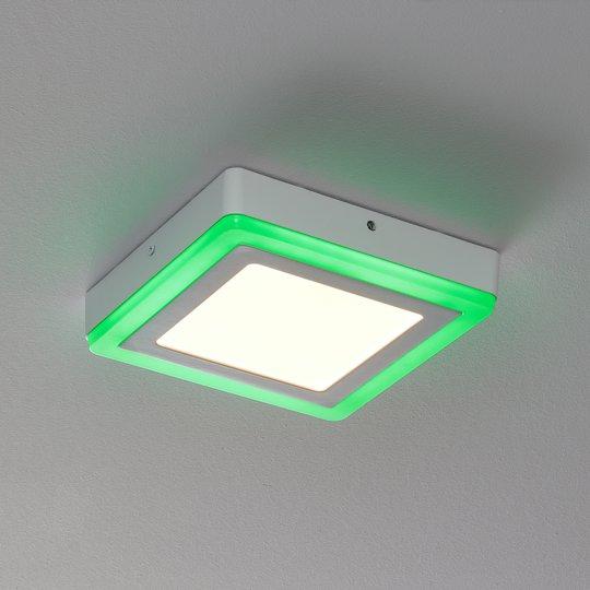 LEDVANCE LED Color+white square -seinälamppu 20 cm