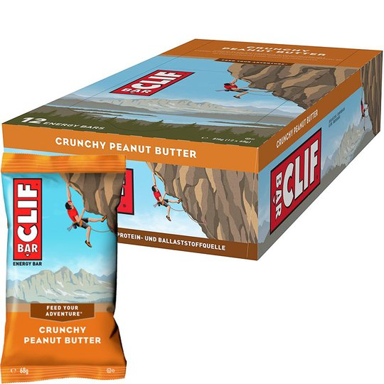 Energiapatukat Crunchy Peanut Butter 12kpl - 32% alennus