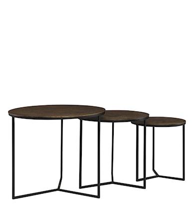 JUNO side table 3/Svintage brass
