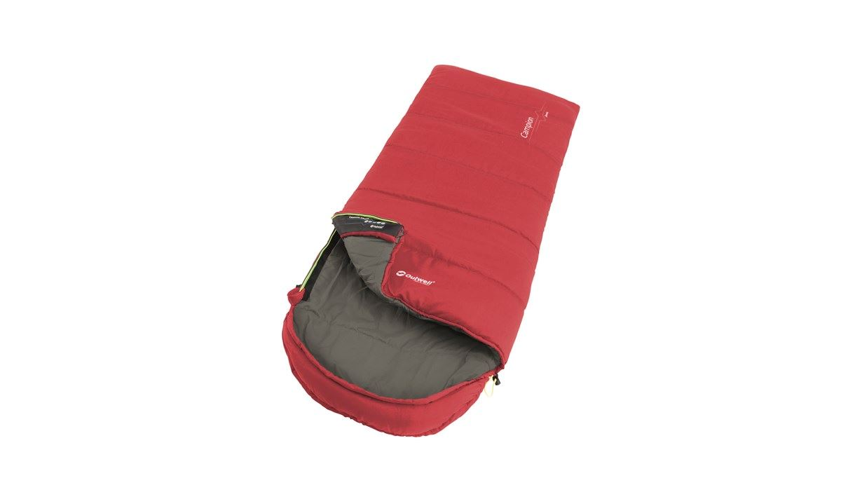 Outwell - Campion Junior Sleeping Bag 2021 - Red (230375)